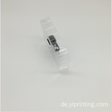 transparentes PVC-Blisterpackungsdesign Blister-Fach