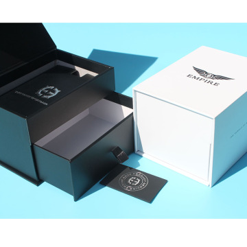 Kotak kardus In-Ear Earphone Gift Packaging Matte Black