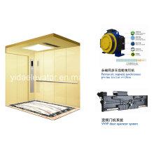 Ex-B02 Preço baixo hospital pintado cama elevador com boa qualidade