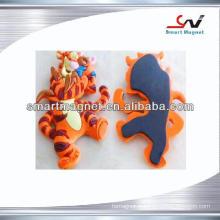 Animation souvenir PVC aimant de réfrigérateur 3D