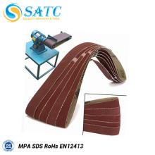 cinta de lijado duro de alta calidad de alta precisión de las telas compuestas del compuesto para la madera