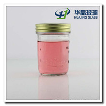 200ml Glass Mason Jar Glass Candy Jar with Screw Cap