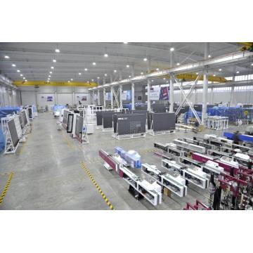 Insulating glass unit equipment