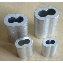Sanduhr Nahtlose Aluminium Ferrule
