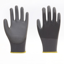 Cotton PU Coated Thumb Fully Work Gloves