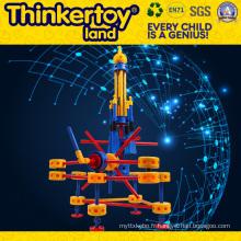 Giant Slide Model Éducation des enfants Toy Plastic Building Blocks