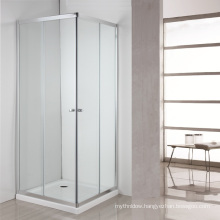 bathroom prefab glass shower cabin