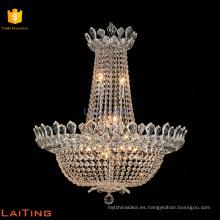 Lamparas colgantes arana de cristal araña tradicional 62054