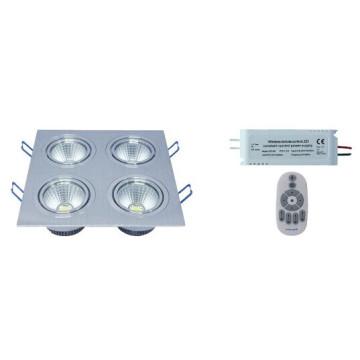 ND-a Seriesrf Controle Remoto de Temperatura de Cor e Regulável COB Down Light-4