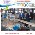 Деревянный пластичный составной WPC Профилирует производственную линию