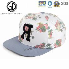 2016 Summer Fashion Snapback Cap com bordado e impressão de tela