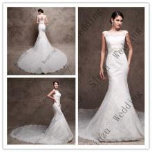 High Quality Mermaid Lace Bridal Gown Wedding Dress F5080