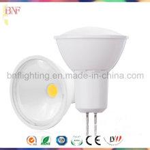 Proyector plástico térmico LED Gu5.3 COB para 3W / 5W con Ce Saso