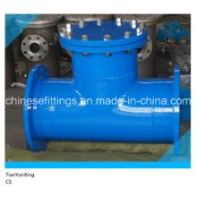 ANSI de acero al carbono soldado con brida T-filtro