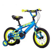 2017 neue design heißer verkauf coole kinder bikes / einfache design leichte jungen fahrrad 14 / metall 4 rädern kinder bike verkauf Yimei Marke