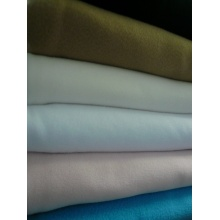 Dyed Polar Fleece Fabric Two Sides Brushing 220gsm