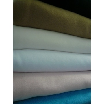 Dyed Polar Fleece Fabric Two Sides Brushing 220gsm