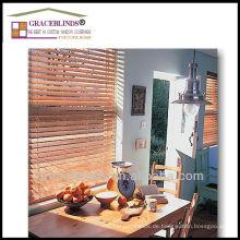 Hochwertiges Leiter Saitenmaterial Holz Jalousien