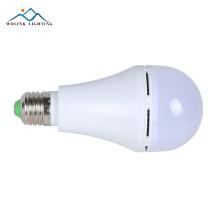 Neues Produkt Energiesparende e27 warmweißes Aluminium 7watt 9watt 12watt führte Birnenlampe
