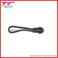 Black Plastic String Zipper Puller para Mochila