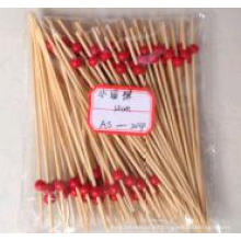 Pequeño espárrago / palillo de bambú redondeado