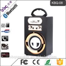 KBQ-08 10W 1200mAh 2017 New Arrival usb input Mic Input echo mini Karaoke speaker