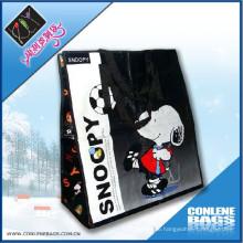 Snoopy Tasche verwendet PP gewebt Tasche PP gewebt Tasche mit Reißverschluss