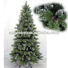 Decorative 240cm outdoor larger pine needle snow Christmas tree
