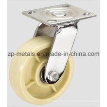 Roulette à roulettes robuste en nylon de 4 pouces