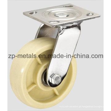 Roda de rodízio resistente do giro do nylon de 4inch