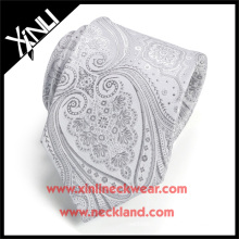 Dry-clean Only Polyester Wholesale Necktie Woven Paisley Fabric Cheap