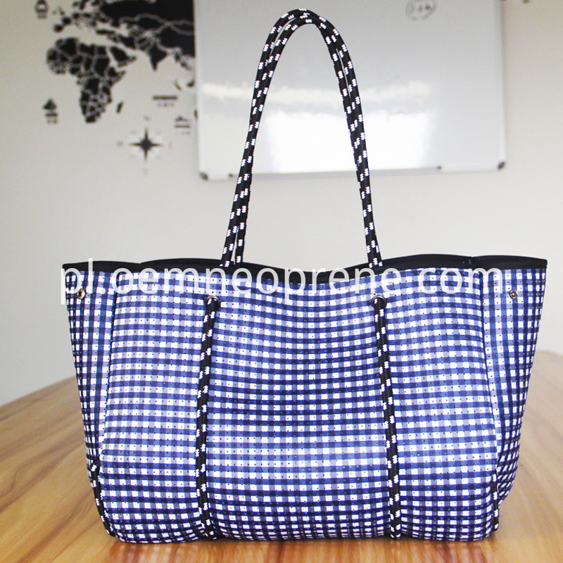 beach bag with pocket