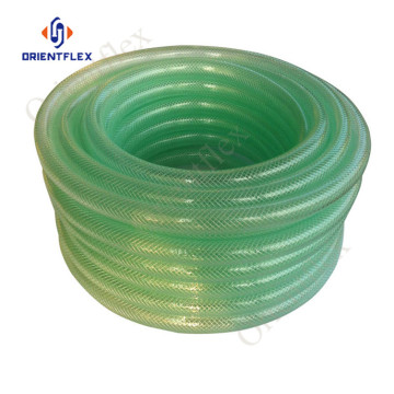 PVC materaial ống bện trong suốt