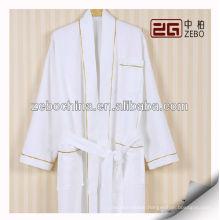 100% Cotton White Hotel Waffle Bath Robe