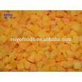 Замороженный продукт желтый персик кубики 15 * 15мм