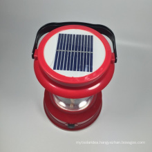 Hotsales Ebst-D01A LED Solar Camping Hiking Lamp with Mobile Charger