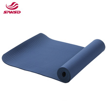 Eco Friendly new style fitness non slip TPE mats custom label eva yoga mat