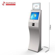 Kiosque d'information d'Internet d'écran tactile avec le lecteur de carte de NFC RFID