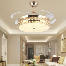 42 Inches 68 W Invisible Bladeless Fan With Remote Control Led Ceiling Fan Light