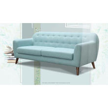 Sofa de tissu moderne de couleur bleue, mobilier de maison Design Simple (M617)
