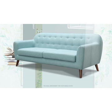 Синий цвет современной ткань диван, простой дизайн дома мебель (M617)