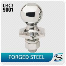 Balle d'attelage de remorque durable chromée de 50 mm