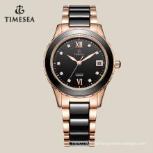 Fashion Ceramic Mechanical Women′s Watch 71003