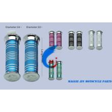 Accesorios de motocicleta Empuñadura de aleación y PVC