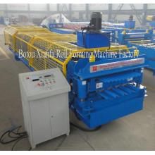 Corrugated Trapezoid Panel Double Deck Roll Forming Machine