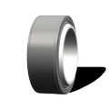 Radial Spherical Plain Bearings GEH-XT-2RS series