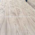 Madera contrachapada natural de la chapa de la teca de 4m m Burma para la India
