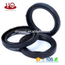 Made in China vedação de óleo de Silicone / FKM / NBR / VITON TC Tipo de borracha do motor caixa de velocidades do anel de vedação de óleo