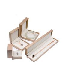 Wholesale luxury custom plastic jewelry storage set ring packaging jewelry gift box with logo