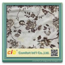 mais recente design de veludo da china tecido decorativo metade da tela de couro meia sofá